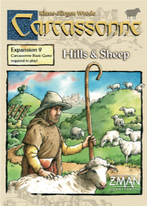 Carcassonne Expansion 9 : Hills & Sheep